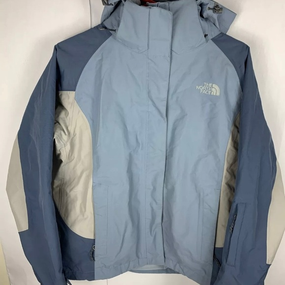 North Face Woman's North Face HyVent grey/blue